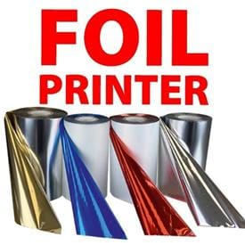TT Metallic Foil Ribbon For FX Foil Imprinters