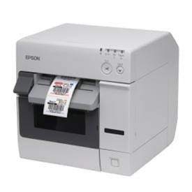 Efficient high-end printer for full colour labels and signs