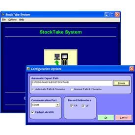 ERS Stock - Inventory logging Software for CPT8000 Series Terminal