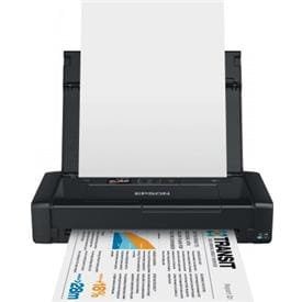 Print anywhere with the world's smallest and lightest wireless A4 inkjet printer