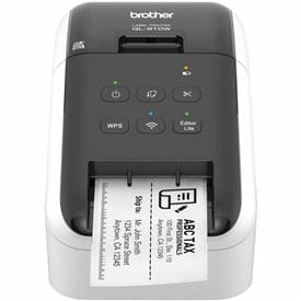 Brother QL-810W Wireless Label Printers makes label printing faster, easier and more affordable than ever before.