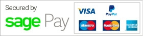 Payments by Sage Pay, SSL by Verisign